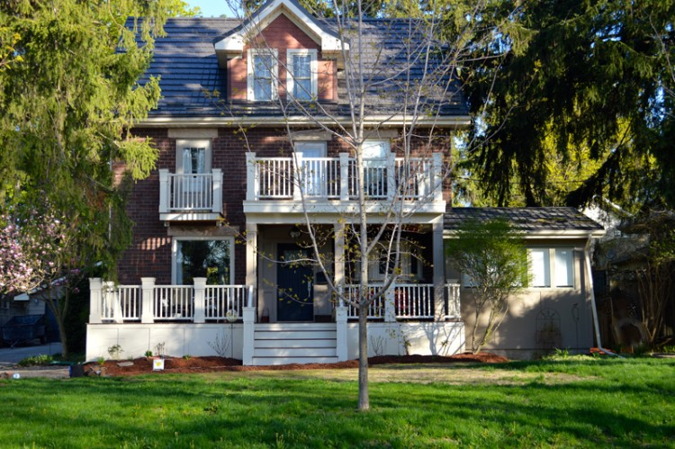 Two Storey Porch