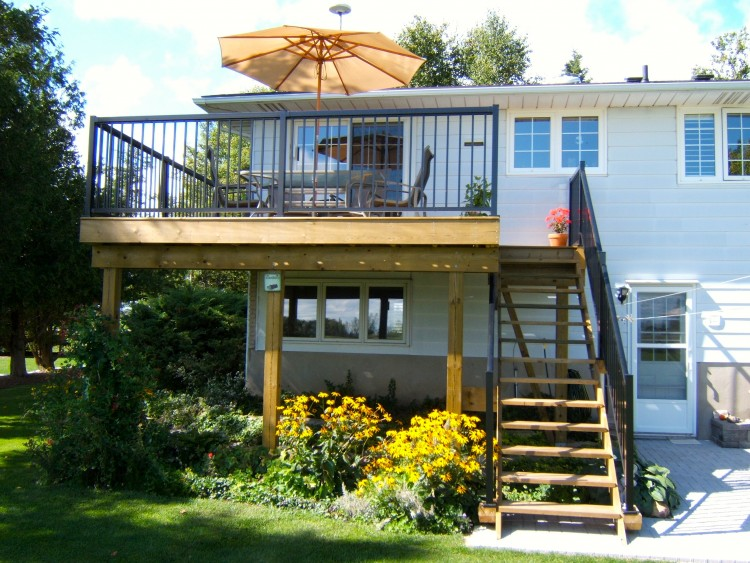 Decks and Outdoor Living Areas